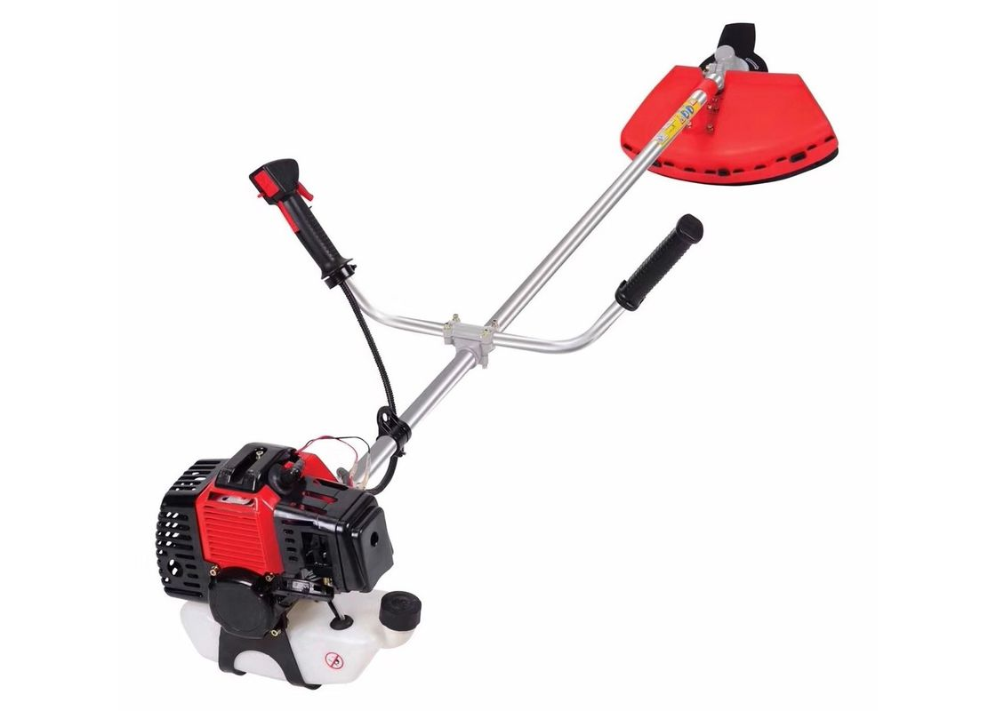52cc Brush Cutter With 2 Stroke Engine A Lawn Mower red and black