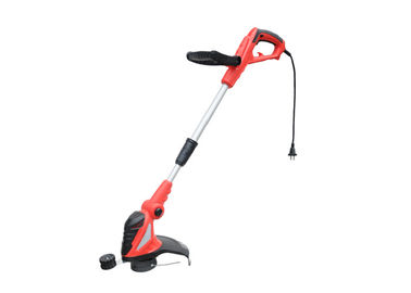 Red Electric Hand Held Pemotong Rumput Portabel 550w Pemangkas Rumput